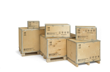 UN approved 4DV plywood boxes